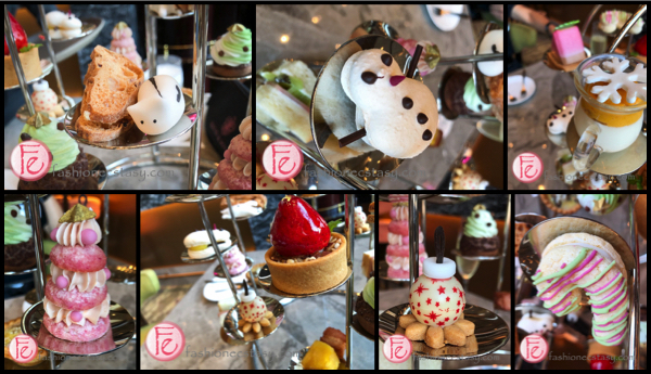 Courtyard Marriott Taipei Christmas afternoon set collage
