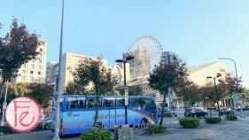 維多麗亞飯店對面美麗華景觀 (view of Miramar Ferris Wheel from Grand Victoria Hotel)
