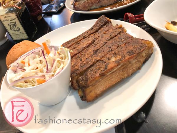 豬肋排 (半份) Tony's BBQ Smokehouse Taipei bbq ribs half rack