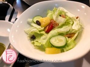 套餐附的沙拉 (side salad with set)