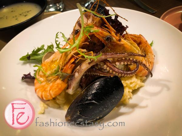 綜合海鮮海膽燉飯 /mixed seafood and sea urchin risotto