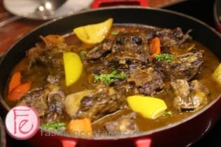 美國紅酒燉牛尾 (braised Ox Tail beef with root vegetable)