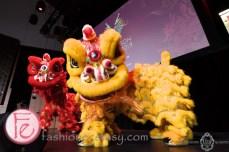 dragon dance at Yee Hong Dragon Ball Gala Toronto 2019 Media launch