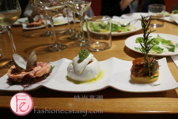 PRIMO 前菜三重奏/PRIMO Appetizer Trio 時尚高潮VIP餐會