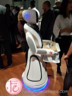 robot waitress at the RC Show 2019 Toronto media preview