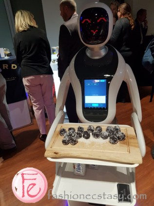 waitress robot at the RC Show 2019 Toronto media preview