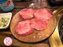 """「人間極品戀上牛舌」""""Fall-in-love Beef Tongue""""($138)"""