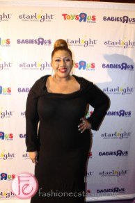 Simone Denny (JUNO winning artist) at Starlight Children's Foundation Gala 2019