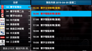 TV Pay頻道 ( TV Pay channels)