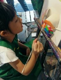 秀233(魚藏文化二館)自助畫室畫畫 - Painting at Show 233 Arts & Culture Studio-3