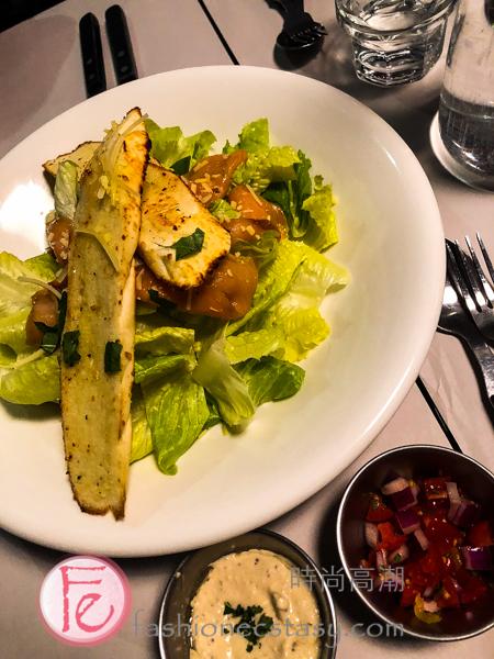 Omega-3能量補給煙燻鮭魚沙拉 ($360)Omega-3 Energy Smoked Salmon Salad ($360)
