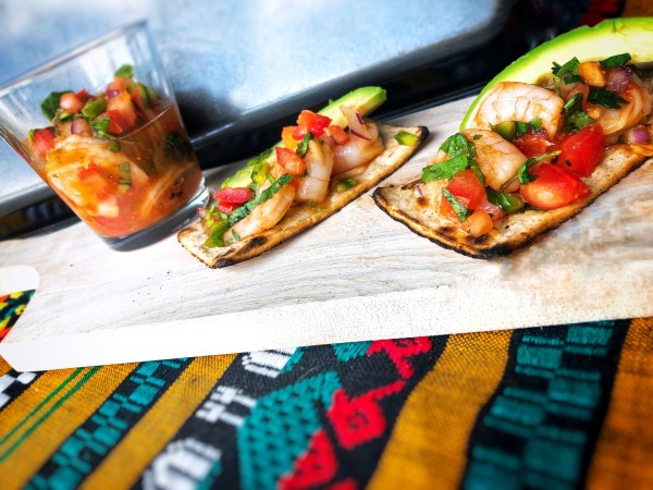 2. Guatemalan-style Shrimp Ceviche by Mirelle Blassnig, @Cocina de Alvarez