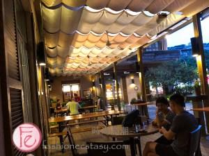 溫德德式烘培坊啤酒花園室外座位 Wendel's Bakery & Bistro patio seats/ beer garden