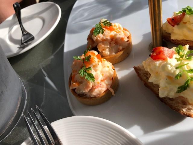 ALoft Hotel Beitou WXYZ Bar afternoon tea set:
