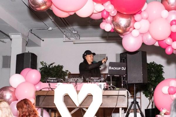 Backup DJ at #TRgirlsnightout Tequila Rose girls night out event Toronto
