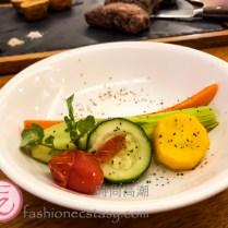 「菲力牛排」配菜 / veggies with steak