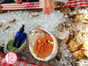 oyster bar at the 3rd Annual Thistletown Chef's Harvest Party 2019