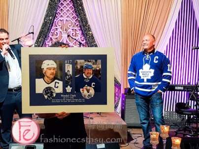 Wendel Clark at After Breast Cancer Pink Diamond Gala 2019 / 多倫多楓葉隊的曲棍球傳奇人物Wendel Clark