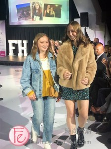 SickKids patient Mia (cheesecake factory & Disney fan) at Fashion Heals for SickKids Hospital 2019 © 2019 Fashion Ecstasy