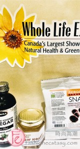 Whole Life Expo 2019 Toronto- heslthy diet, healthy eating & snacking