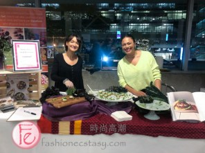 Tamara Green & Sarah Grossman of Living Kitchen at Eat to the Beat2019 in Support of Canadian Cancer Society's programs for breast cancer / 年度公益募款美食活動Eat to the Beat2019以支持加拿大癌症協會乳癌計劃