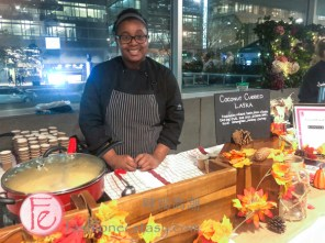 Crystal Powell- Kanvas Chefs at Eat to the Beat2019 in Support of Canadian Cancer Society's programs for breast cancer