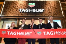 TAG HEUER luxury watch first boutique store yorkdale shopping mall, Toronto, Canada