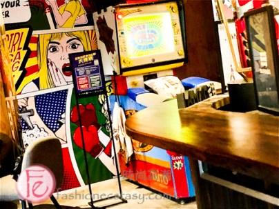 金色三麥安和路啤酒吧餐廳打拳擊/ Sunmai Bar Restaurant arcade punching machine