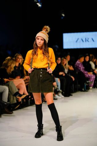 Zara at Toronto Kids Fashion Week 2019 / 多倫多兒童時裝週 2019