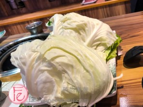 台北旺角石頭火鍋蔬菜盤&海陸盤/ Mong Kok Hotpot Restaurant Taipei - veggie plate & surf & turf plates