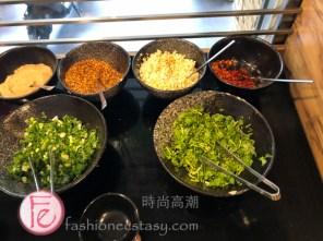 旺角石頭火鍋酌料區 / Mong Kok Stone Hotpot Condiments & dips