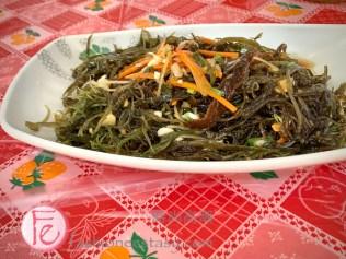 富基漁港「海菜」( $250),/ Seaweed at Fuji Fishing Port New Taipei Seafood restaurant ($250NT)