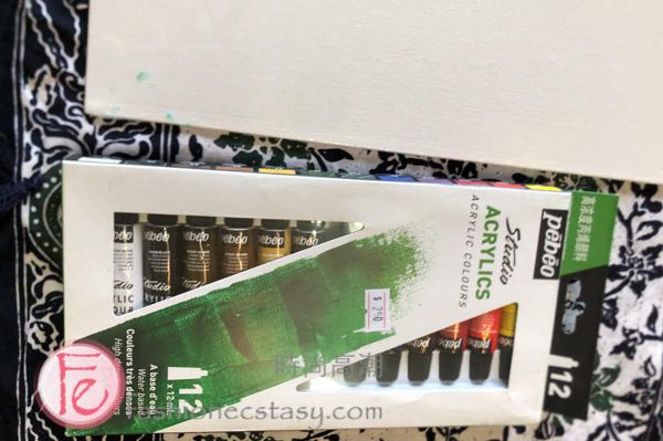 秀之藝術二館魚藏文化館畫具 / Painting supplies available for purchase at Show 233 Fisherman's Wharf, Tamsui