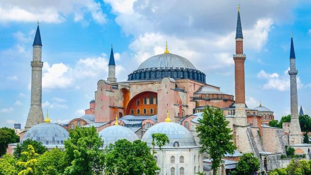 Hagia Sophia Mosque, Istanbul, Turkey travel blog 土耳其伊斯坦堡旅遊記聖索菲亞大教堂