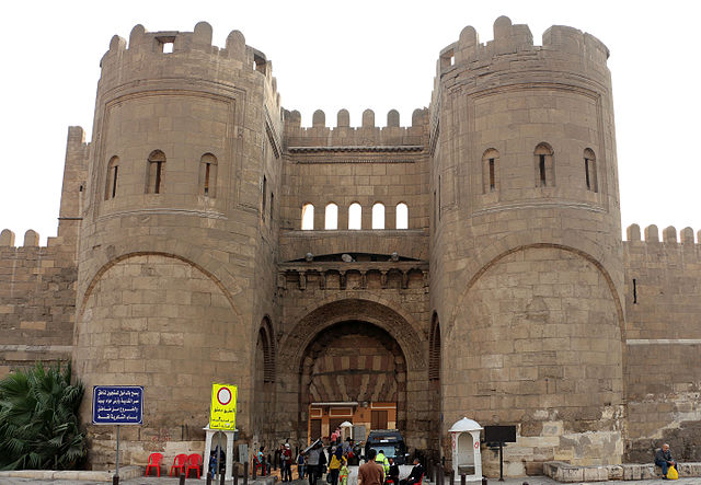 Bab al-Futuh Gate, Cairo Egypt deep travel