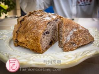 淡水新市鎮安唐帝諾義式餐廳「五穀手工麵包」 / Andantino Italian restaurant, Tamsui's handmade multigrain bread