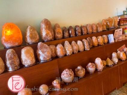 瑪莎菈三芝印度餐聽喜馬拉雅鹽木晶燈 / Masala-Zone Restaurant's Himalayan salt lamp collection