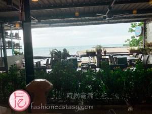 瑪莎菈三芝印度餐廳觀海座位 / Masala-Zone Restaurant seaside view