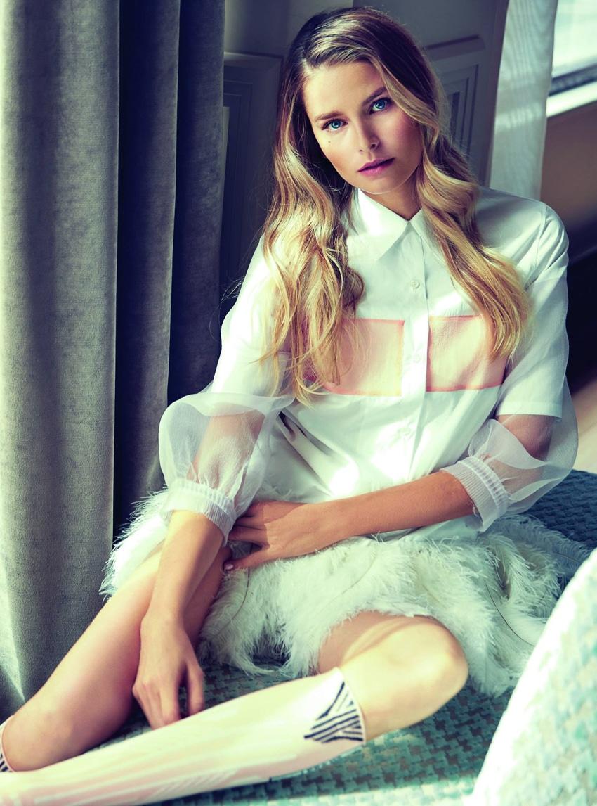 Marie Claire Czech October 2017 Hana Soukupova By Anka Kovacic Fashion Editorials