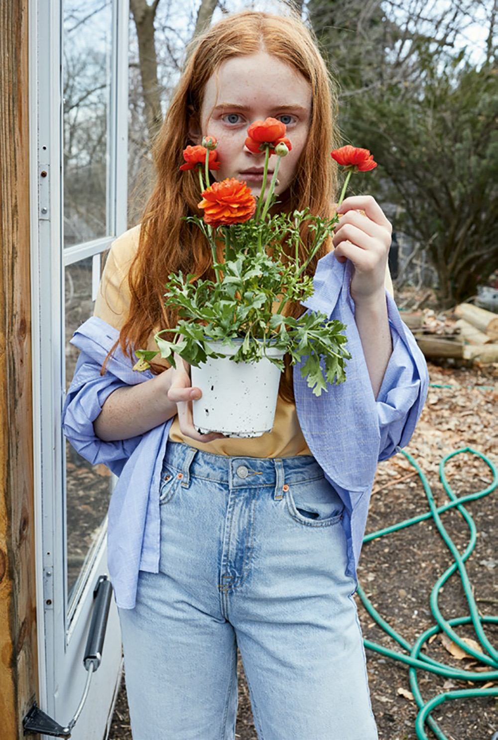 System Magazine Issue 11 Sadie Sink By Juergen Teller