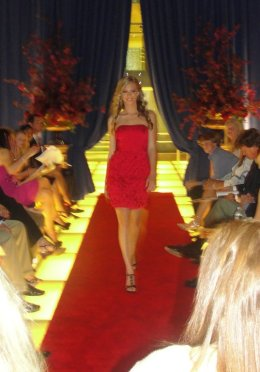 Fashion show for Runway on the River, K-Hov Children's Hospital