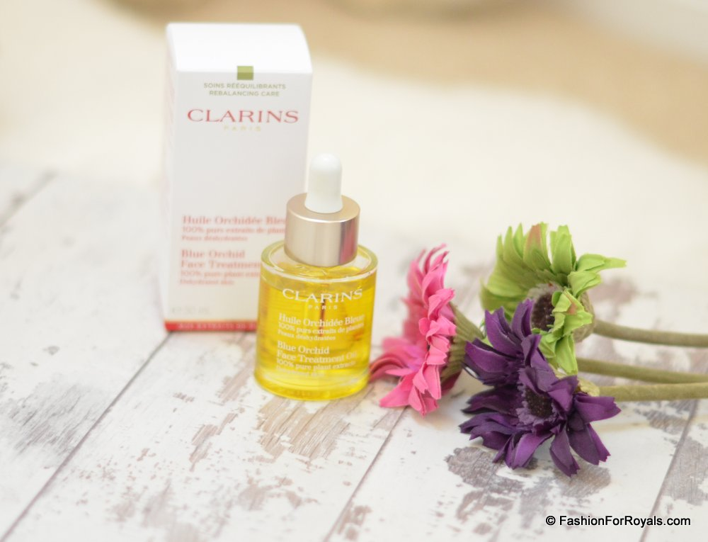 Blue Orchid Treatment Oil- Clarins 2