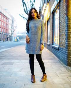 Jumper dress kind of day topshopstyle OOTD topshop ootd tuesdaytreathellip