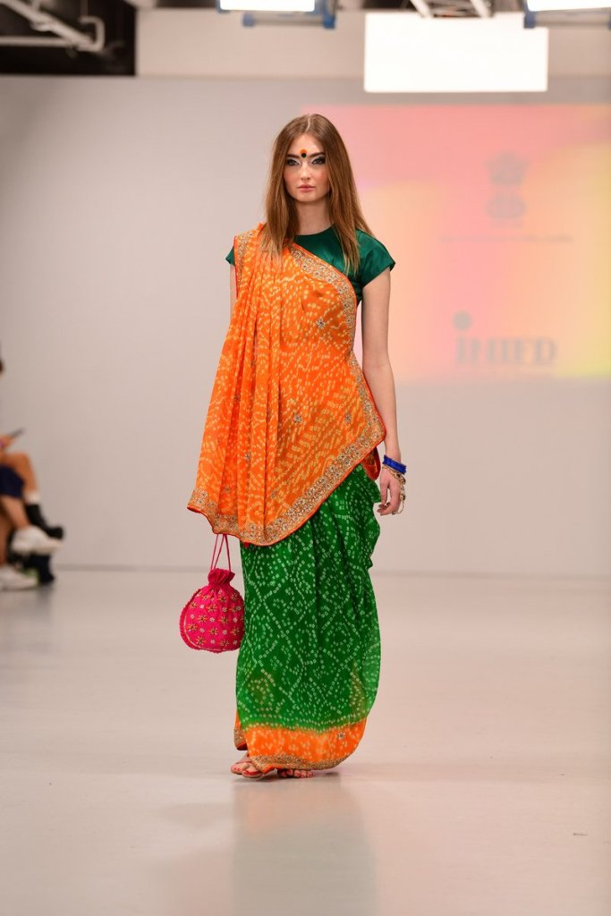 India Day Celebration By Indian High Commission At London Fashion Week Fashionforroyals