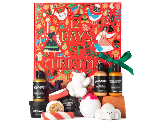 Lush christmas advent calendar