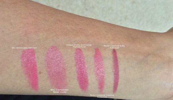 Top Five Hot Pink Lip Colors