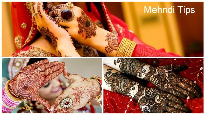 Mehndi Tips