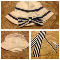 How About A DIY Tommy Hilfiger Inspired Hat?