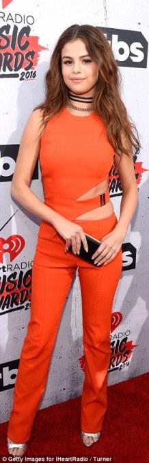 Selena Gomez, iHeart Music Awards 2016.