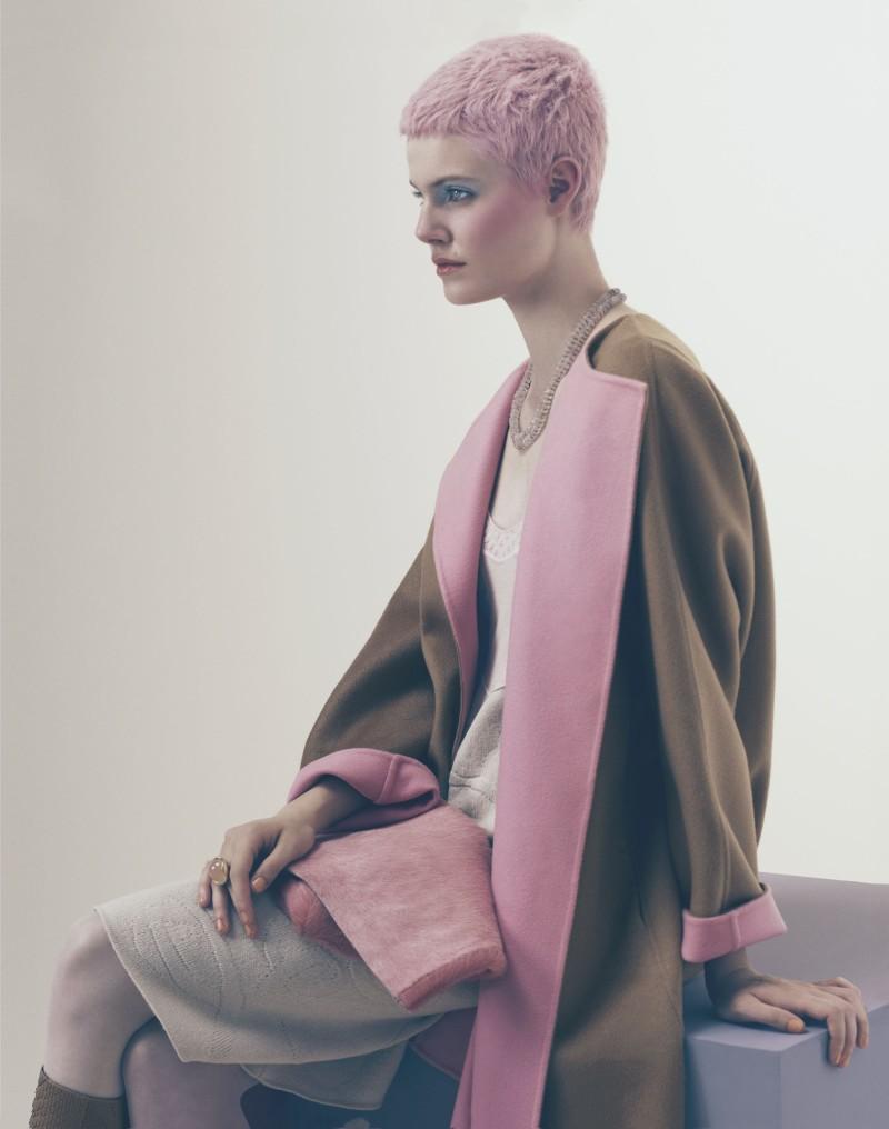 ehren dorsey3 Ehren Dorsey is Pretty in Pastel for How to Spend It, Lensed by Andrew Yee